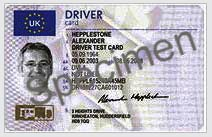 Digital Tachograph Drivers Card