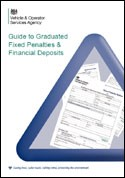 DVSA Guide to Graduated Fixed Penalties & Financial Deposits